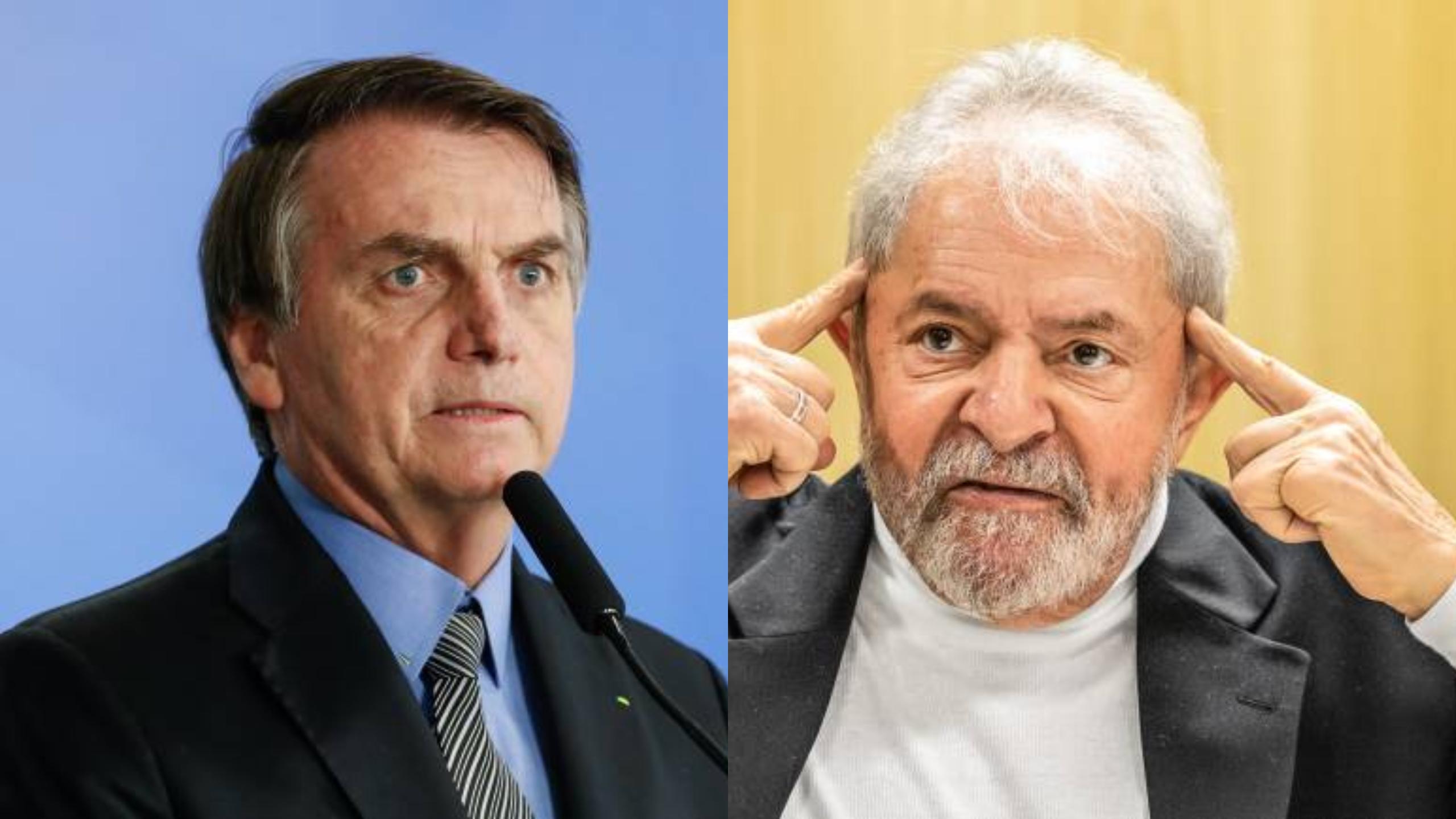"""Bolsonaro detona proposta de Lula de regular mídia: """"No que depender de nós, jamais vamos censurá-los"""""""